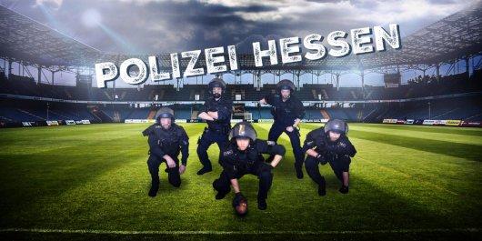 Polizei Hessen - als Football