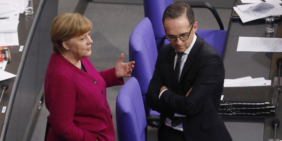 Chaos-Truppe BRD: Merkel, Maas und von der Leyen…nur drei vonvielen…