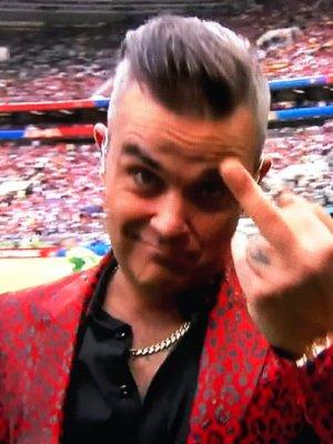 Robbie Williams mein neuer bester Freund !!! Er scheißt auf Euch….!!!